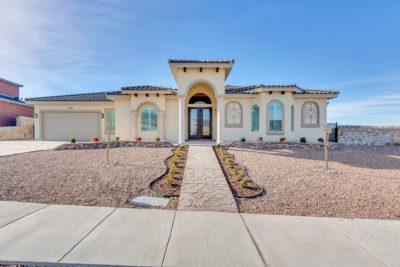 New Home Exterior El Paso TX